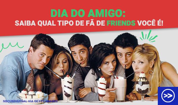 Dia do amigo: só um verdadeiro fã de Friends acerta estas 8 questões!